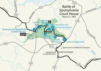 Fredericksburg & Spotsylvania National Military Park - Spotsylvania Unit