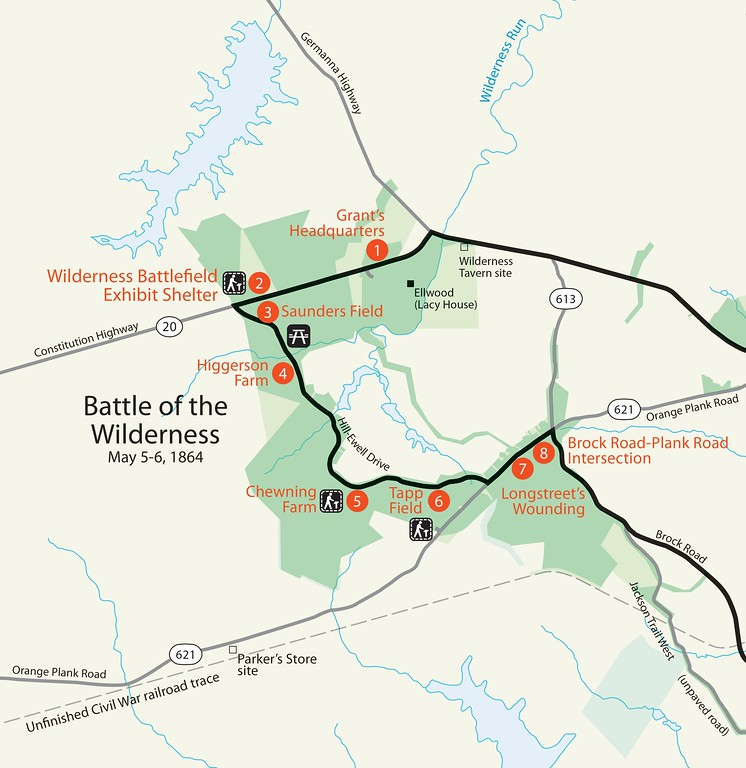 Fredericksburg & Spotsylvania National Military Park - Wilderness Unit