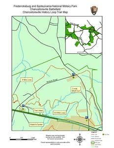 Fredericksburg & Spotsylvania National Military Park (Chancellorsville History Loop Trail)