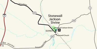 Fredericksburg & Spotsylvania National Military Park - Stonewall Shrine Unit