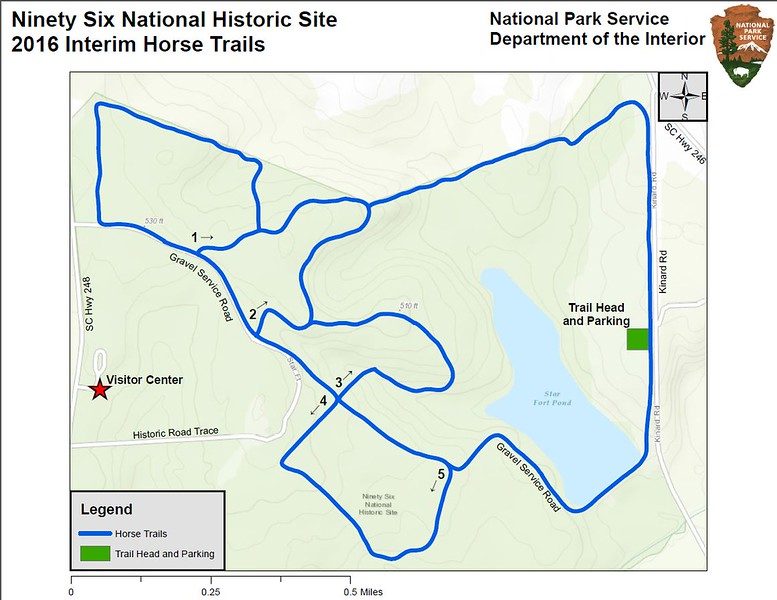 Ninety Six National Historic Site (Horse Trails)