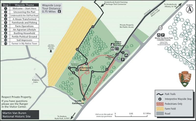 Martin Van Buren National Historic Site (Wayside Loop Trail)