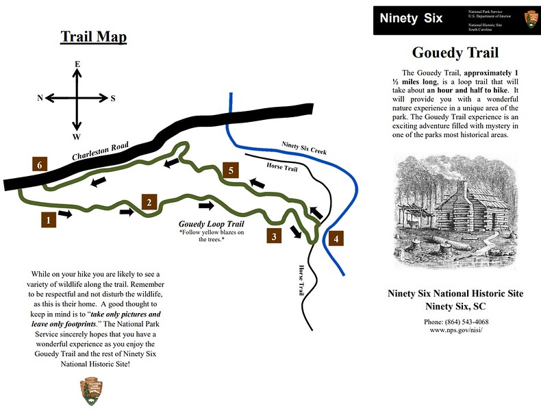Ninety Six National Historic Site (Gouedy Trail)