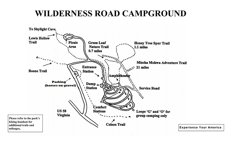 Cumberland Gap National Historical Park (Wilderness Road Campground)