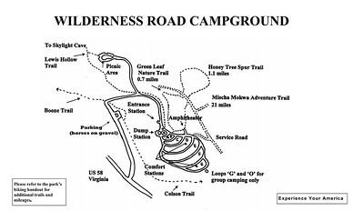 Cumberland Gap National Historical Park (Wilderness Road Campground)