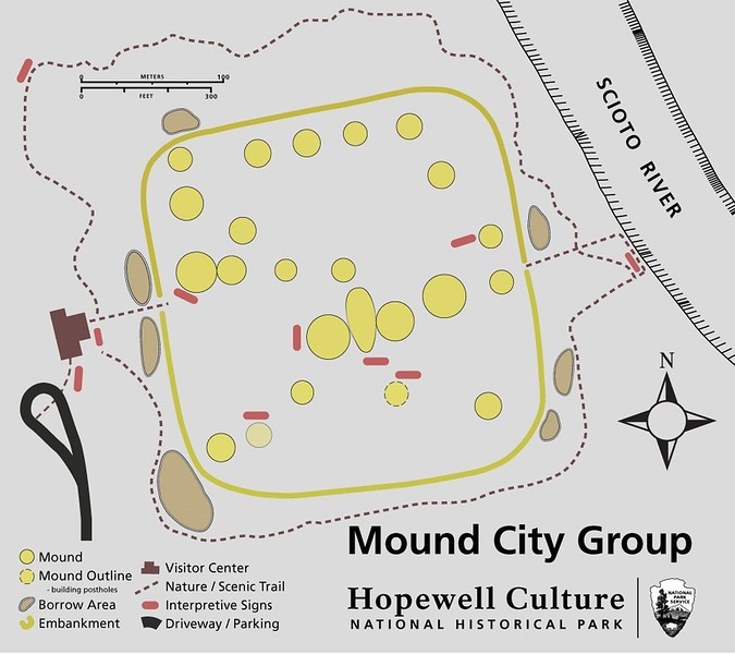 Hopewell Culture National Historical Park (Mound City Group)
