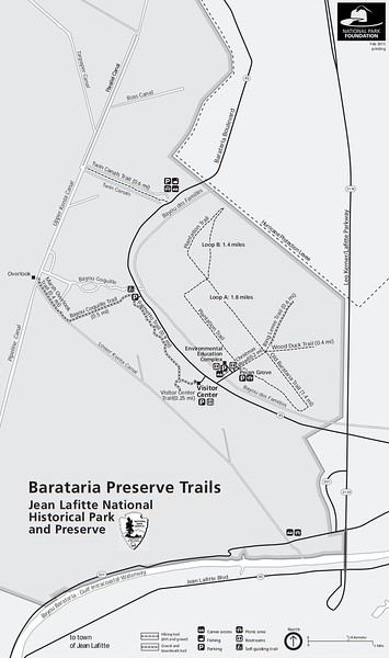 Jean Lafitte National Historical Park and Preserve (Barataria Preserve Trails)