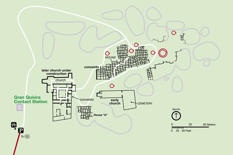 Salinas Pueblo Missions National Monument (Gran Quivira Area)