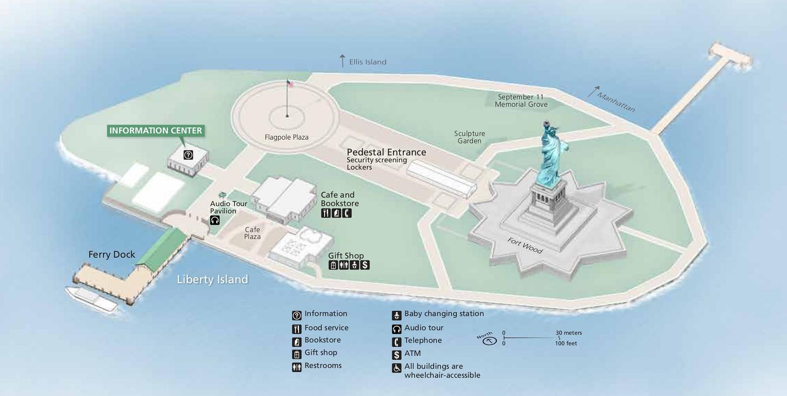 Statue of Liberty National Monument -- Liberty Island