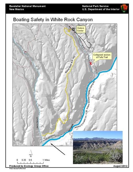 Bandelier National Monument (White Rock Canyon Boating Safety)