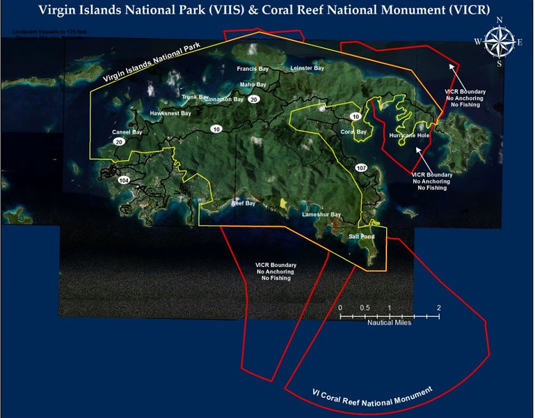 Virgin Islands Coral Reef National Monument