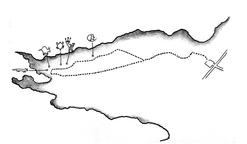 Petroglyph National Monument (Rinconada Canyon Map)