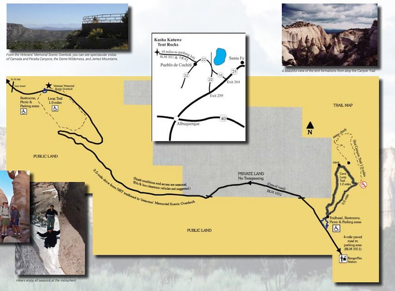 Kasha-Katuwe Tent Rocks National Monument (Trail Map)
