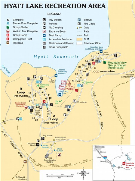 Cascade-Siskiyou National Monument (Hyatt Lake Recreation Area)