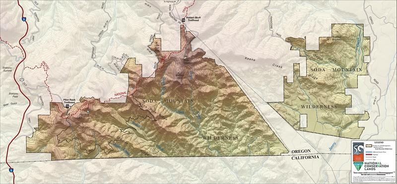 Cascade-Siskiyou National Monument (Soda Mountain Wilderness)