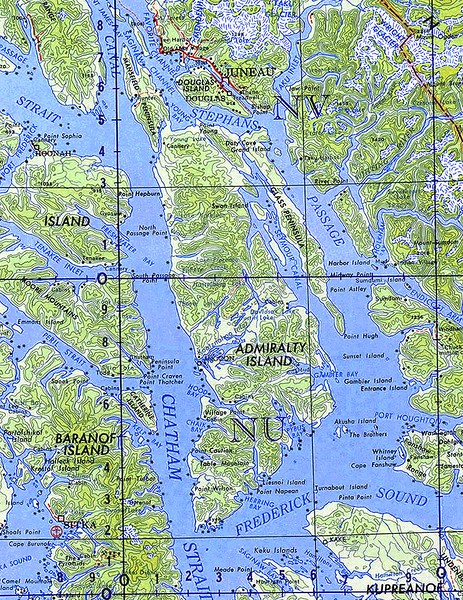 Admiralty Island National Monument