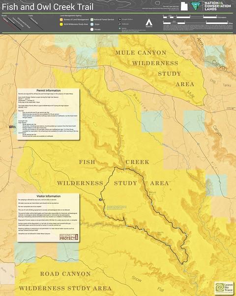 Bears Ears National Monument (Fish & Owl Creek Trail)
