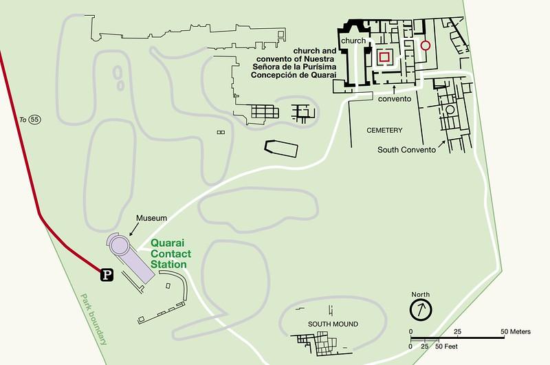 Salinas Pueblo Missions National Monument (Quarai Area)