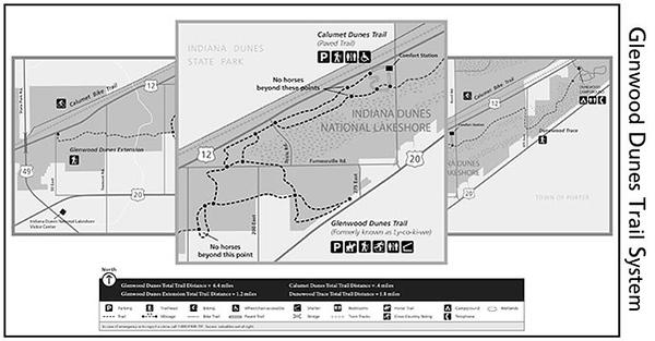 Indiana Dunes National Park (Glenwood Dunes Trail System)