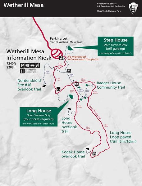 Mesa Verde National Park (Wetherill Mesa Area)