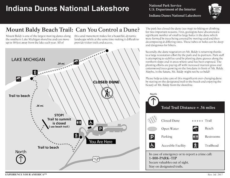 Indiana Dunes National Park (Mount Baldy Trail)