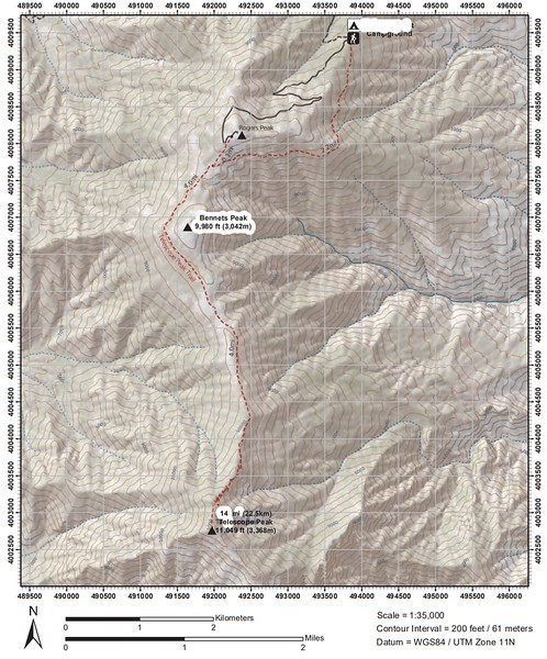 Death Valley National Park (Telescope Peak)