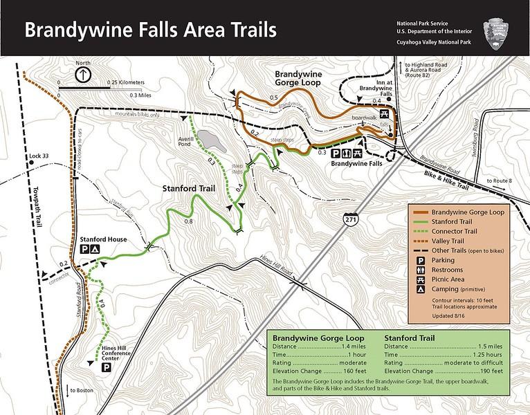 Cuyahoga Valley National Park (Brandywine Falls Area Trails)