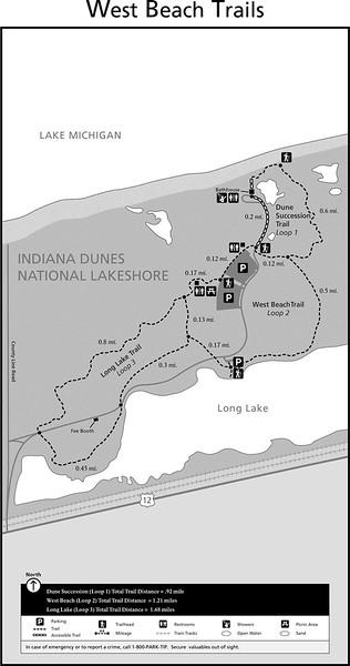 Indiana Dunes National Park (West Beach Trails)