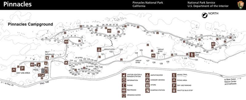 Pinnacles National Park (Pinnacles Campground)