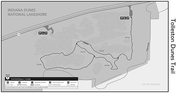 Indiana Dunes National Park (Tolleston Dunes Trail)