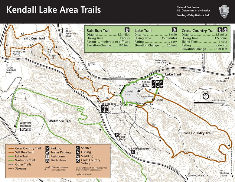 Cuyahoga Valley National Park (Kendall Lake Area Trails)