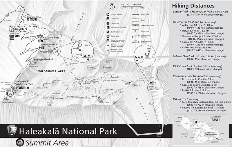 Haleakala National Park (Summit Area Trails)