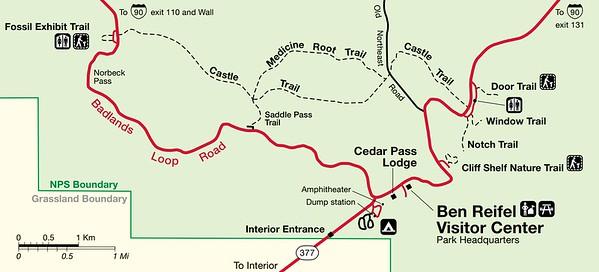 Badlands National Park (Cedar Pass Area)