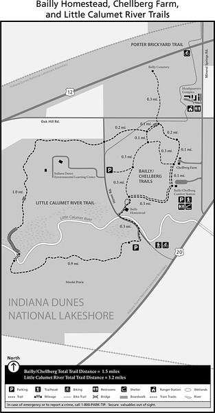 Indiana Dunes National Park (Bailly Homestead, Chellberg Farm, & Little Calumet River Trails)