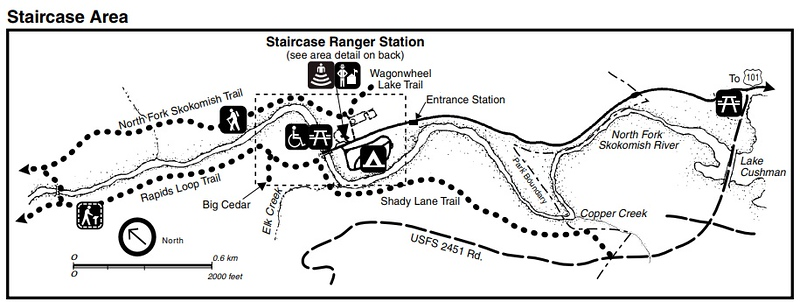 Olympic National Park (Staircase Area)