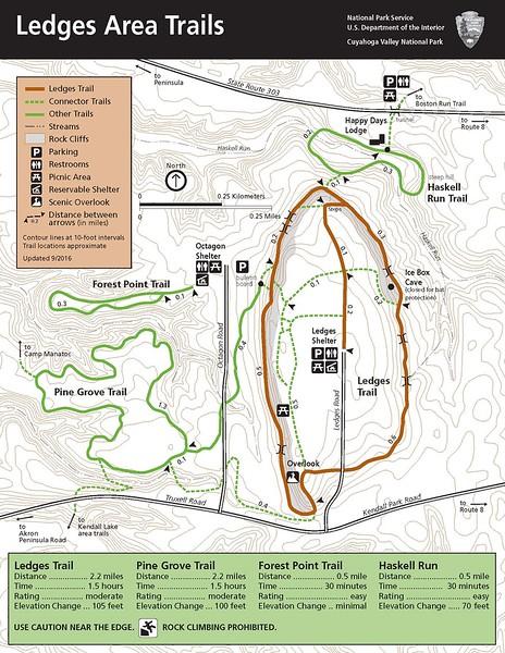 Cuyahoga Valley National Park (Ledges Area Trails)