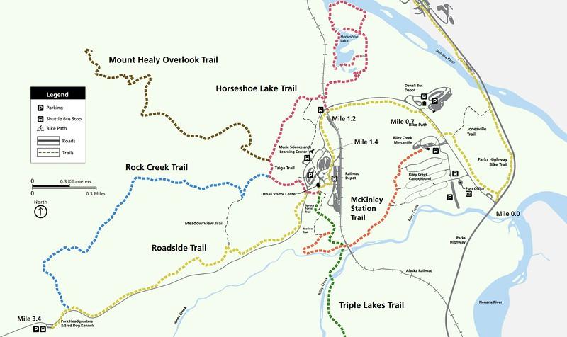 Denali National Park (Visitor Center Area Trails)
