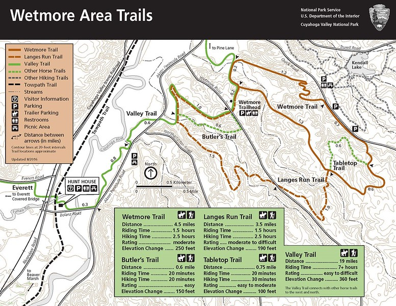 Cuyahoga Valley National Park (Wetmore Area Trails)