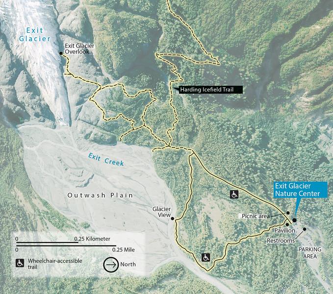 Kenai Fjords National Park (Exit Glacier Area)