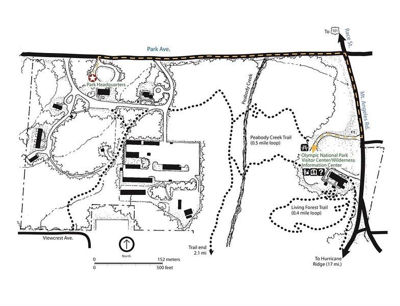 Olympic National Park (Park Headquarters Area)