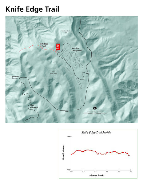 Mesa Verde National Park (Knife Edge Trail)