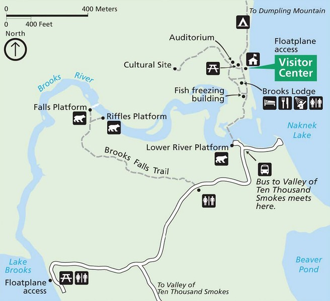 Katmai National Park and Preserve (Brooks Camp Area)