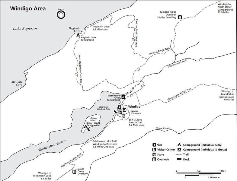 Isle Royale National Park (Windigo Area)
