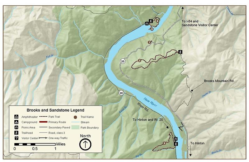 New River Gorge National Park and Preserve (Sandstone Brooks Area Trails)