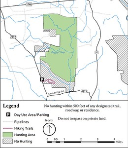 Big Thicket National Preserve (Hunting Areas - Beech Creek Unit)