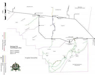 Big Cypress National Preserve (ORV Trails - Stairsteps Unit)