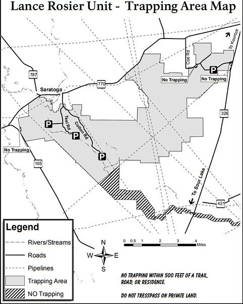 Big Thicket National Preserve (Trapping Areas - Lance Rosier Unit)