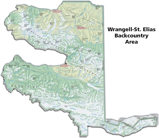 Wrangell-St. Elias National Park and Preserve (Backcountry Areas)