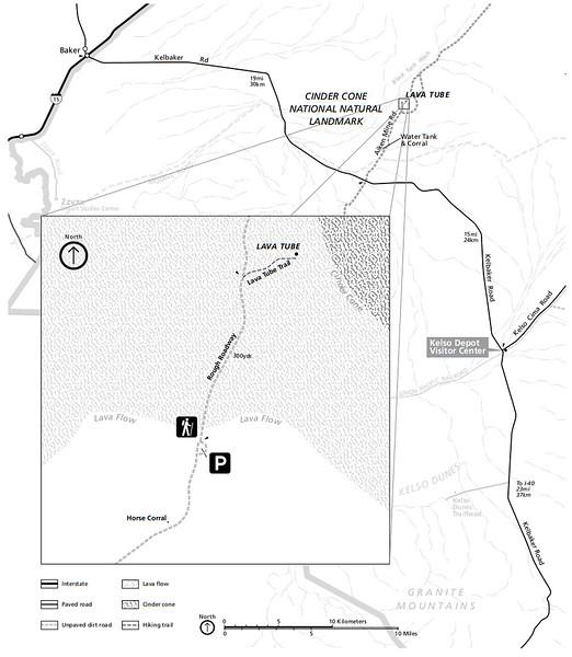 Mojave National Preserve (Cinder Cone Area)