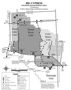 Big Cypress National Preserve (Management Units Map)